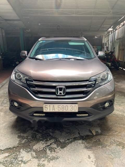 Chính chủ bán ô tô Honda CR V năm 2013, màu xám-1