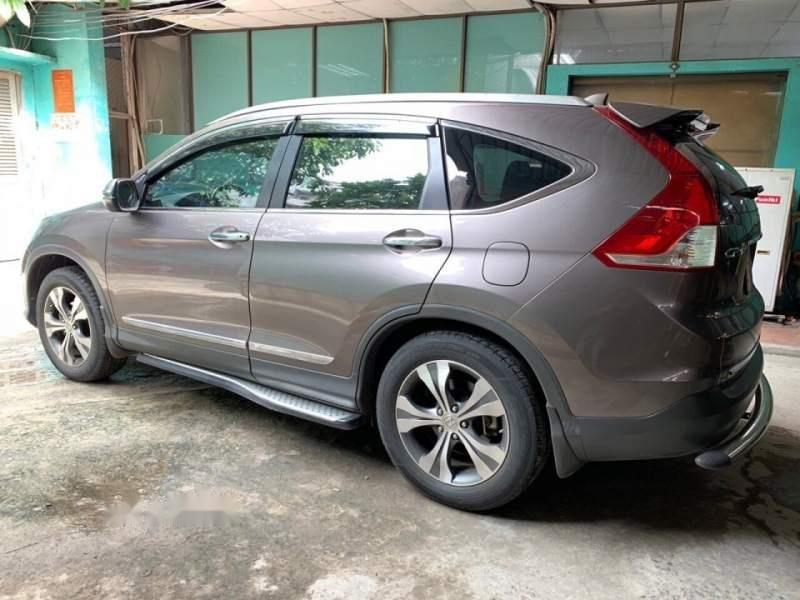 Chính chủ bán ô tô Honda CR V năm 2013, màu xám-0