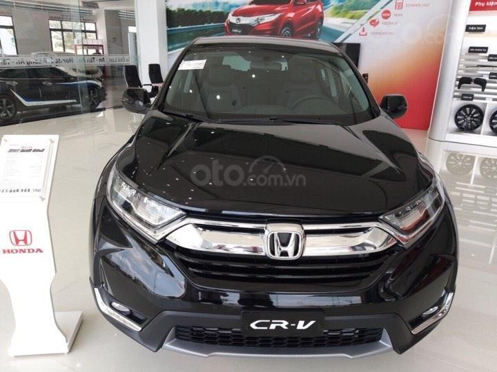 Honda Ô Tô Long An[ bán xe Honda CRV G] năm 2019, màu đen, xe nhập Thái Lan ( liên hệ 0944392047 0904668377)-0