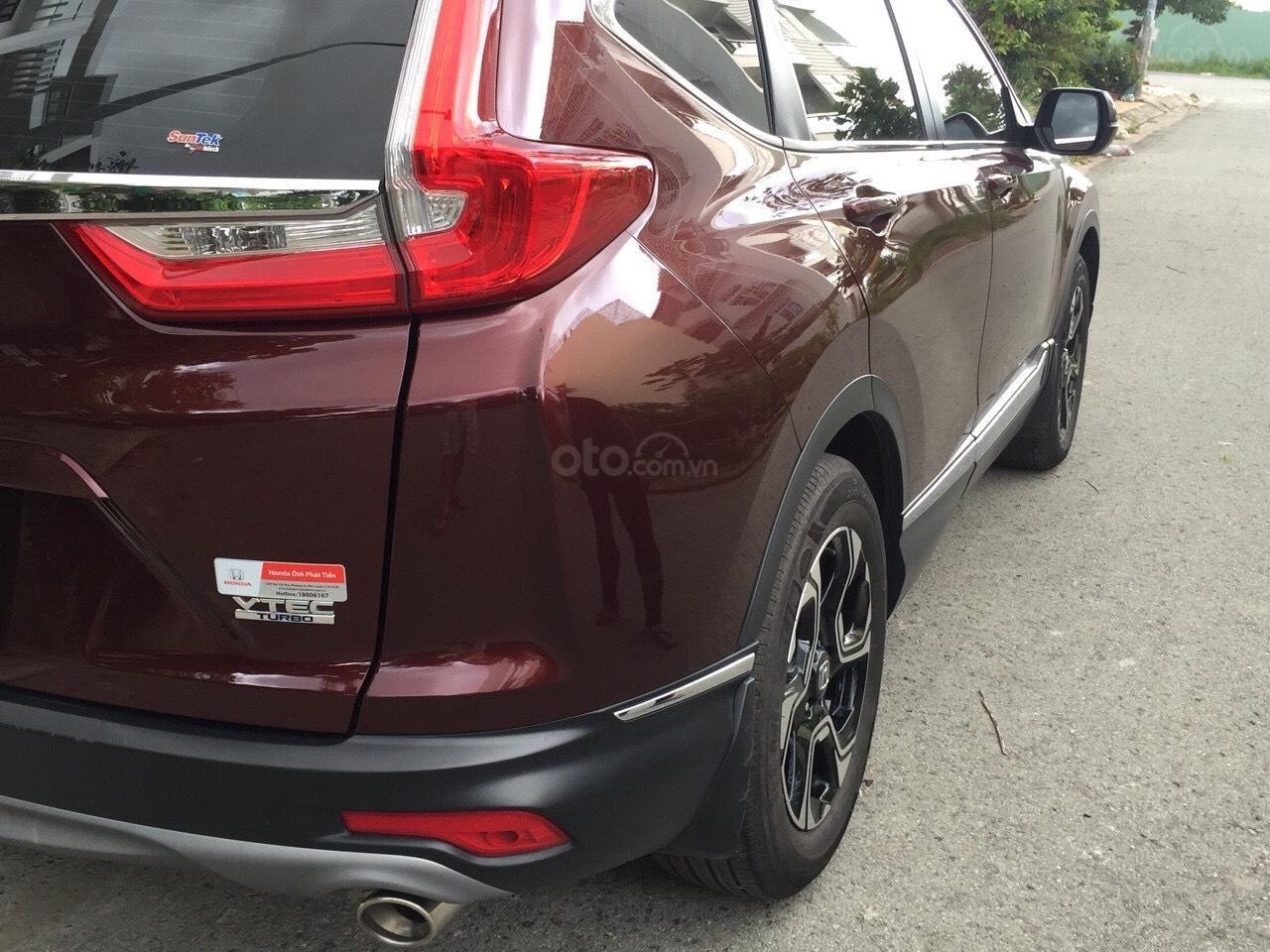 Bán Honda CR-V 1.5G 2018 màu đỏ mận xe đẹp không lỗi đi đúng 11.000km, cam kết chất lượng bao kiểm tra hãng-2