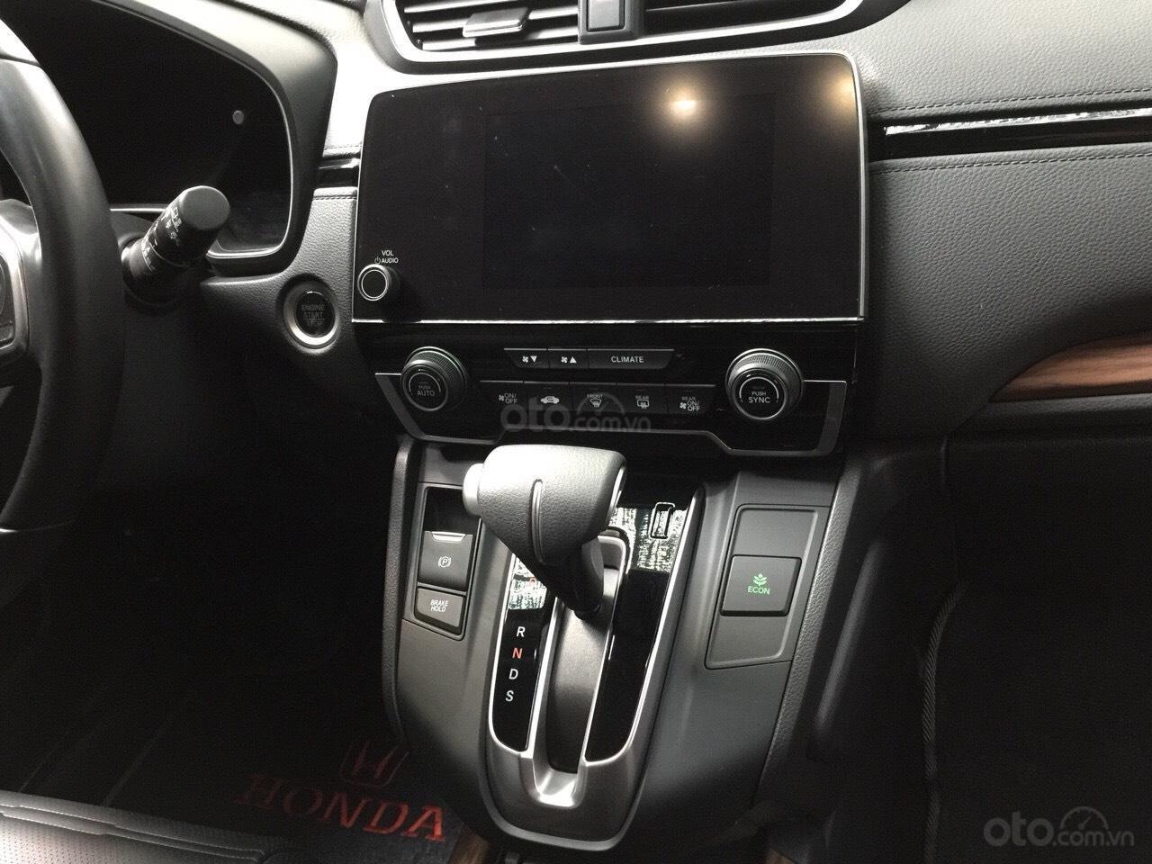 Bán Honda CR-V 1.5G 2018 màu đỏ mận xe đẹp không lỗi đi đúng 11.000km, cam kết chất lượng bao kiểm tra hãng-4