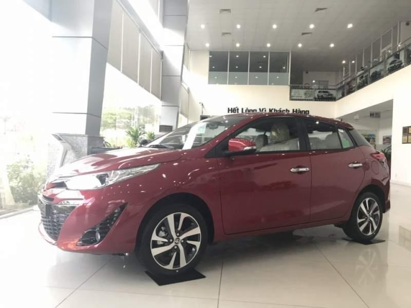 Bán Toyota Yaris sản xuất 2019, màu đỏ, nhập khẩu   (6)