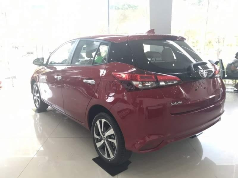 Bán Toyota Yaris sản xuất 2019, màu đỏ, nhập khẩu   (5)