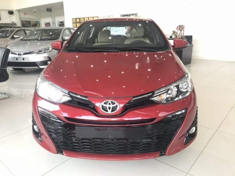 Bán Toyota Yaris sản xuất 2019, màu đỏ, nhập khẩu   (1)
