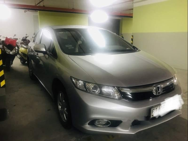 Bán Honda Civic năm 2013, màu bạc, chính chủ -4
