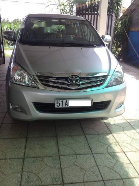 Cần bán lại xe Toyota Innova năm sản xuất 2008, màu bạc (1)