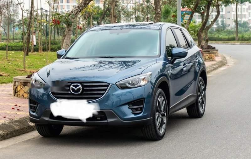 Bán ô tô Mazda CX 5 sản xuất 2016, màu xanh lam (1)