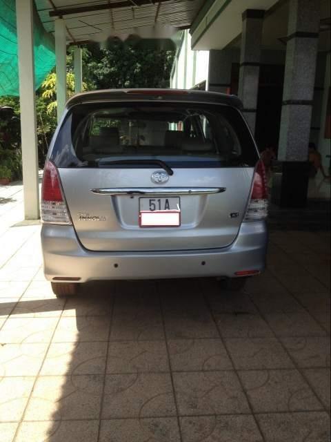 Cần bán lại xe Toyota Innova năm sản xuất 2008, màu bạc (4)