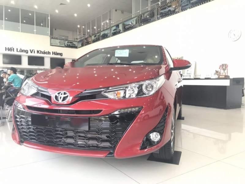 Bán Toyota Yaris sản xuất 2019, màu đỏ, nhập khẩu   (2)