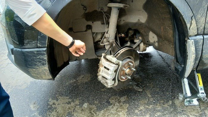 Hiện tượng rỉ sét trên xe Honda CR-V ...
