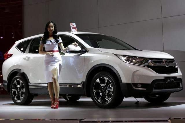 Bán Honda CR V năm sản xuất 2019, màu trắng, xe nhập (3)