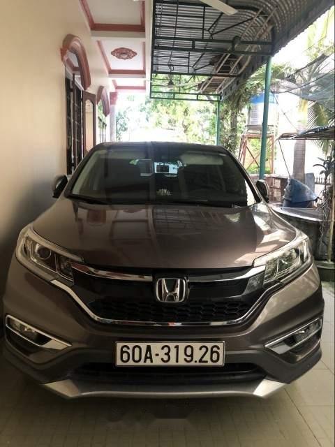 Chính chủ bán xe Honda CR V 2.4 AT sản xuất 2016, màu xám (1)