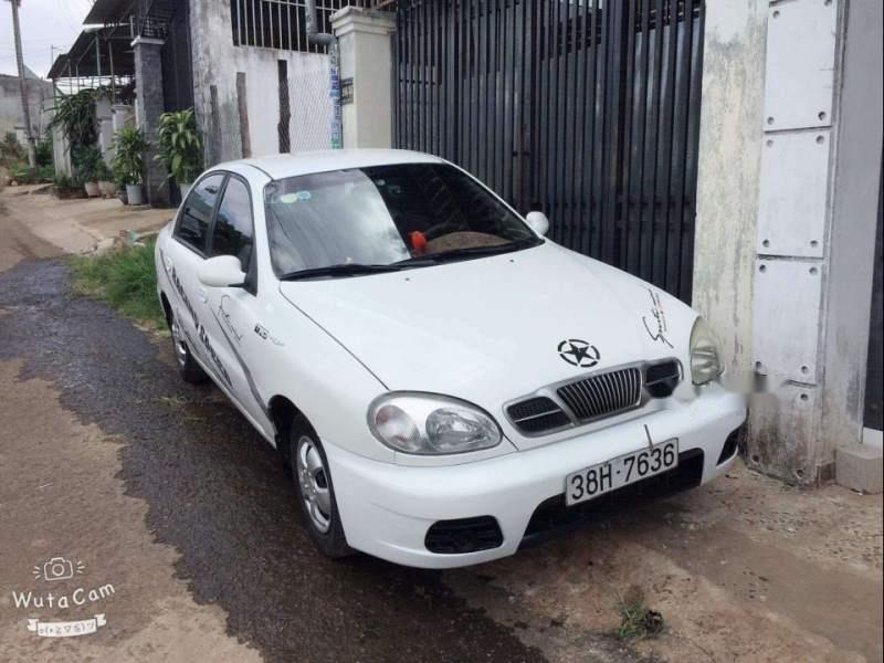 Bán xe Daewoo Lanos năm 2000, màu trắng, nhập khẩu nguyên chiếc, giá chỉ 65 triệu-0