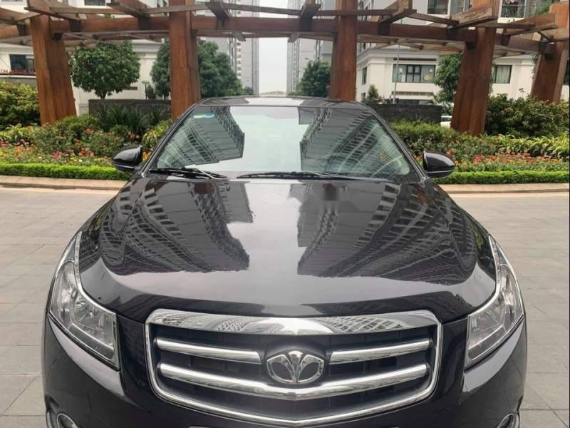 Cần bán gấp Daewoo Lacetti CDX  1.6 AT 2010, màu đen xe gia đình (1)