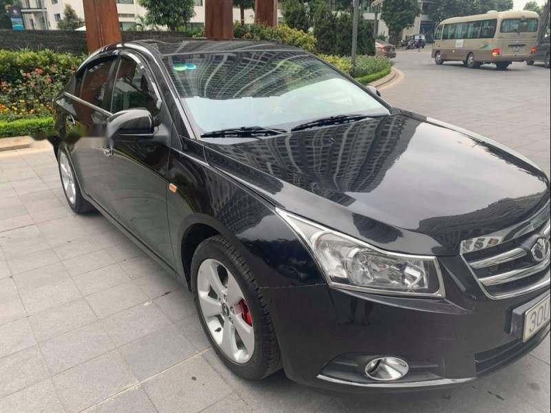 Cần bán gấp Daewoo Lacetti CDX  1.6 AT 2010, màu đen xe gia đình (4)