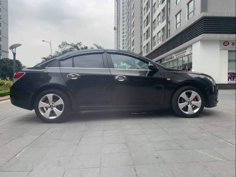 Cần bán gấp Daewoo Lacetti CDX  1.6 AT 2010, màu đen xe gia đình (3)