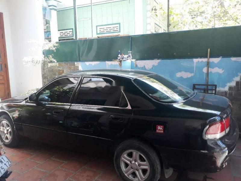 Bán Mazda 626 năm sản xuất 1992, màu đen, nhập khẩu nguyên chiếc số sàn, giá chỉ 100 triệu (1)