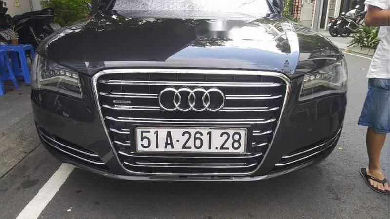 Bán Audi A8 2012, màu đen, nhập khẩu nguyên chiếc-0