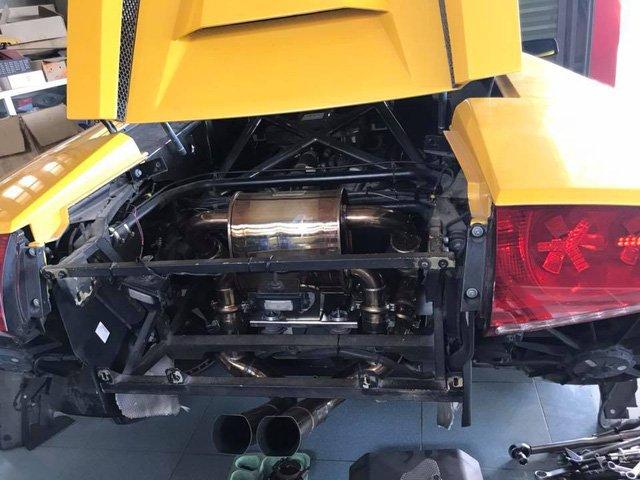 """Lamborghini Murcielago độc nhất tại Việt Nam """"lên đồ"""" trước khi đến Car Passion 2019 a7"""