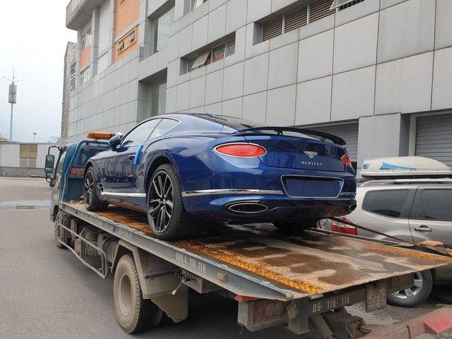 Thêm chiếc Bentley Continental GT thế hệ mới về Việt Nam a1
