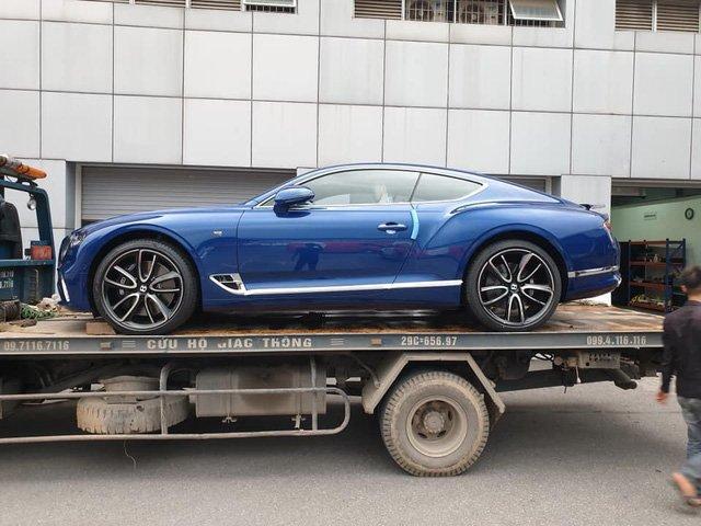 Thêm chiếc Bentley Continental GT thế hệ mới về Việt Nam a3