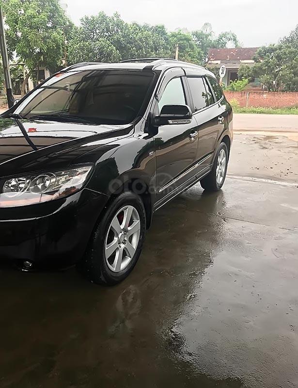 Cần bán Hyundai Santa Fe MLX sản xuất 2007, màu đen, xe nhập   (1)