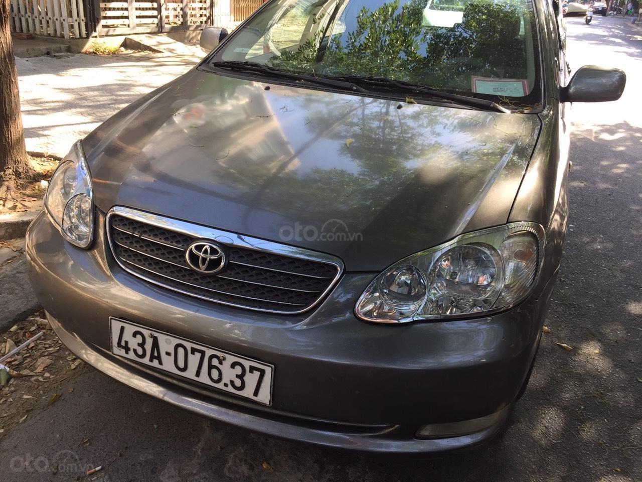 Cần bán Toyota Corolla Altis đời 2005, màu xám (ghi), xe nhập, giá 270tr (1)