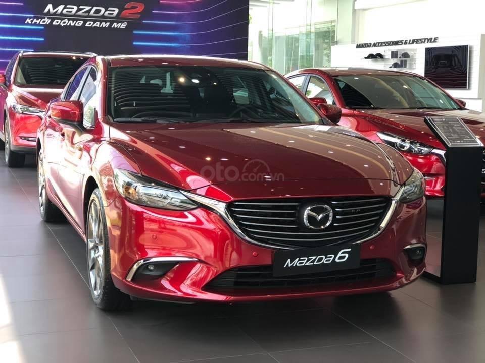 Cần bán xe Mazda 6 2.0 Premium 2019, màu đỏ, giá cực ưu đãi, Lh: 0794555625-0