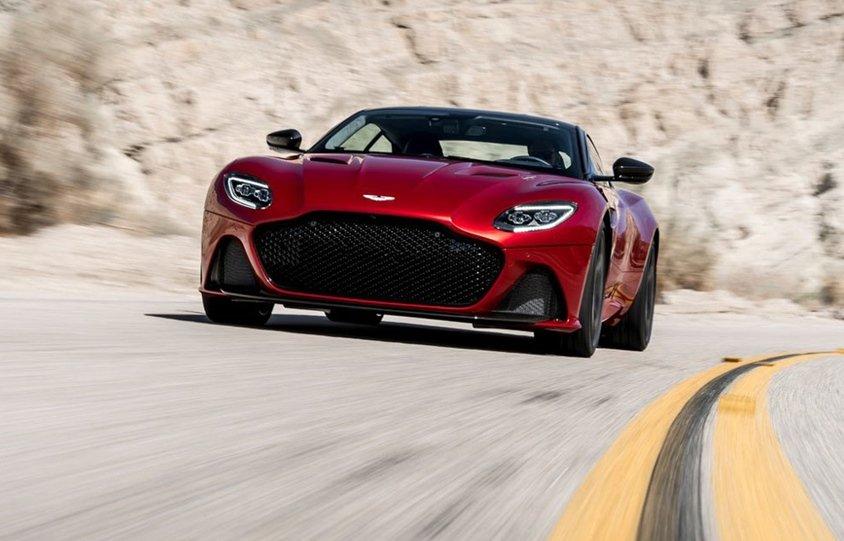 10 xe hơi đẹp nhất thế giới hiện nay: Aston Martin DBS Superleggera 1.