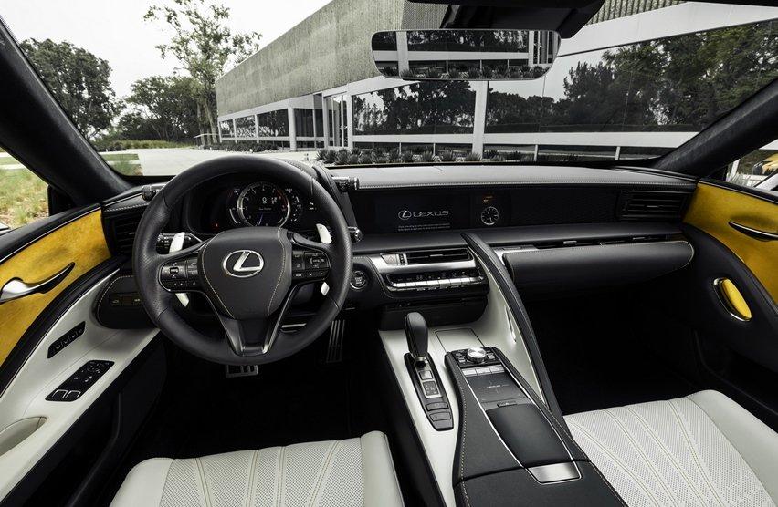 Nội thất của Lexus LC500 1