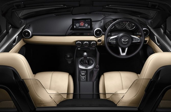 Nội thất của Mazda MX-5 Miata 1