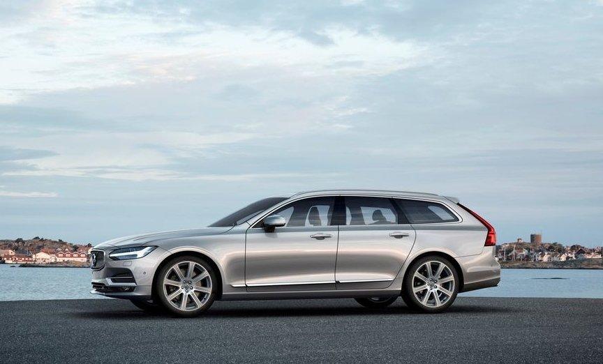 10 xe hơi đẹp nhất thế giới hiện nay: Volvo V90.