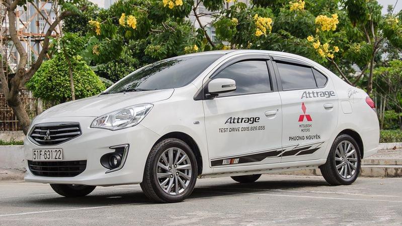 Mitsubishi Attrage 2019 hiện tại giá bao nhiêu?