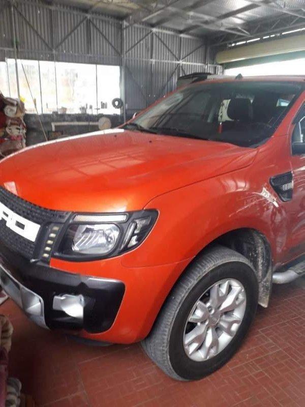 Bán Ford Ranger đời 2014, nhập khẩu, màu cam (1)