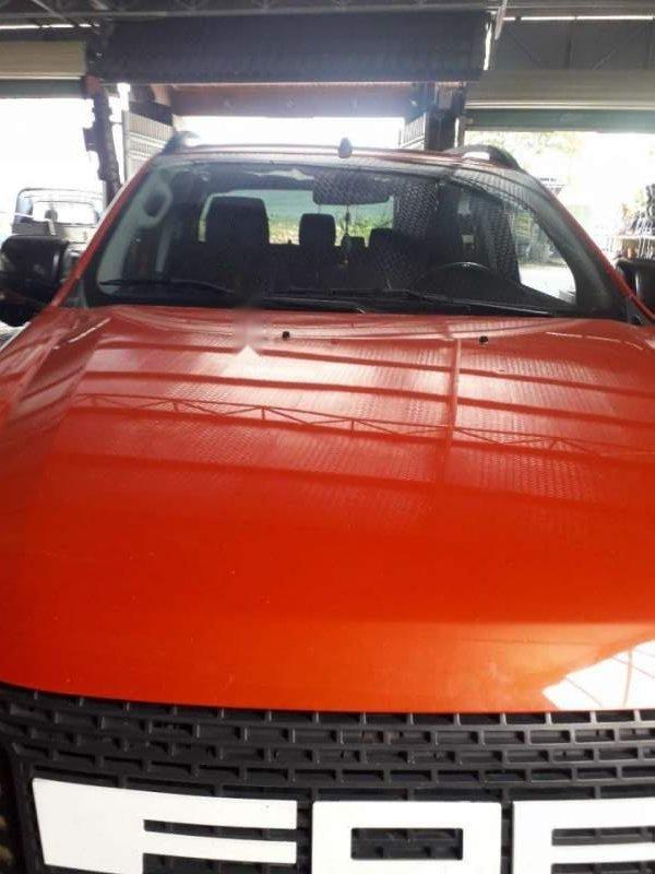 Bán Ford Ranger đời 2014, nhập khẩu, màu cam (4)