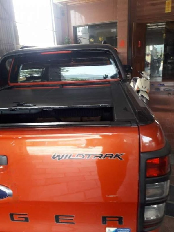 Bán Ford Ranger đời 2014, nhập khẩu, màu cam (3)