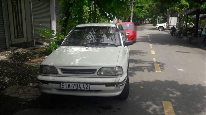 Bán Kia Pride MT năm 2012, màu trắng, xe zin-0