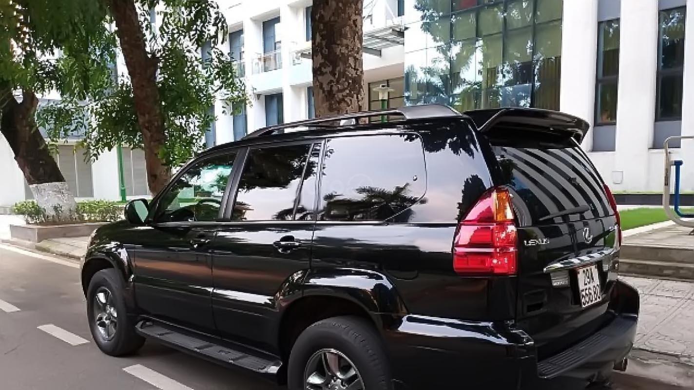 Chính chủ bán lại xe Lexus GX 470 năm 2004, màu đen, nhập khẩu (2)