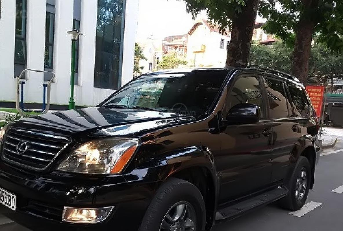 Chính chủ bán lại xe Lexus GX 470 năm 2004, màu đen, nhập khẩu (1)