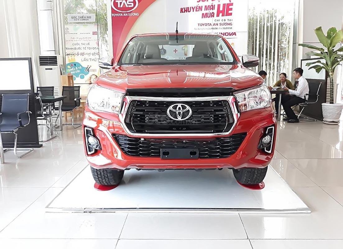 Bán xe Toyota Hilux 2.4G 2019, màu đỏ, nhập khẩu, xe mới hoàn toàn-0