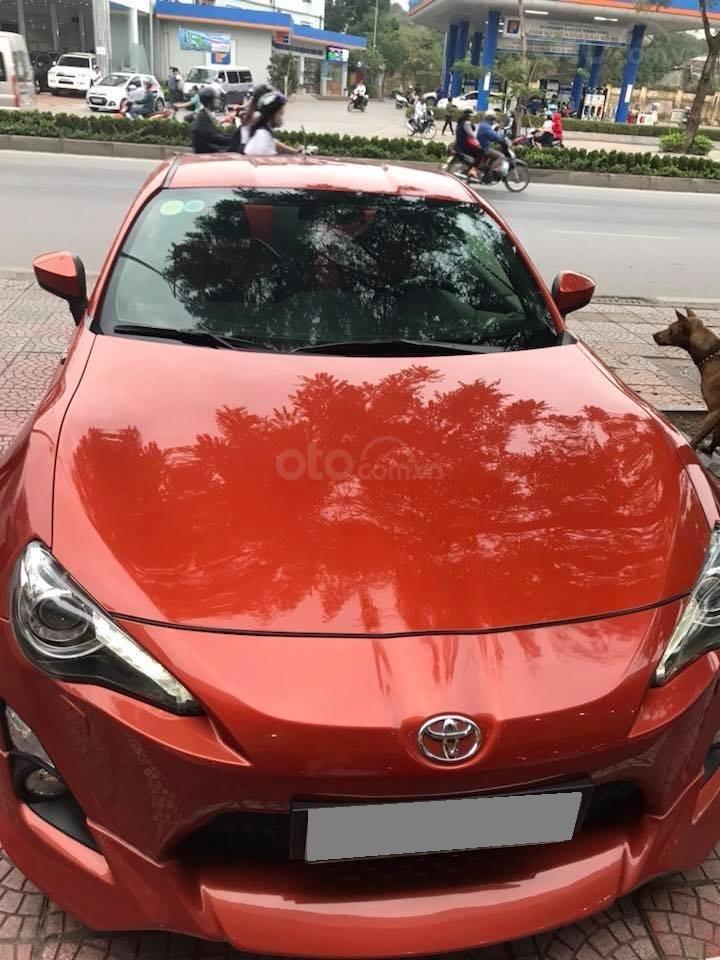 Bán Toyota 86 hai cửa tự động 2012, màu cam đỏ, nhập Nhật chính chủ (1)
