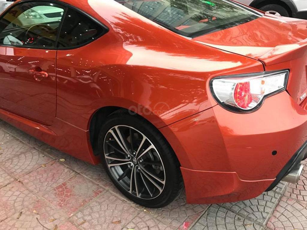 Bán Toyota 86 hai cửa tự động 2012, màu cam đỏ, nhập Nhật chính chủ (3)