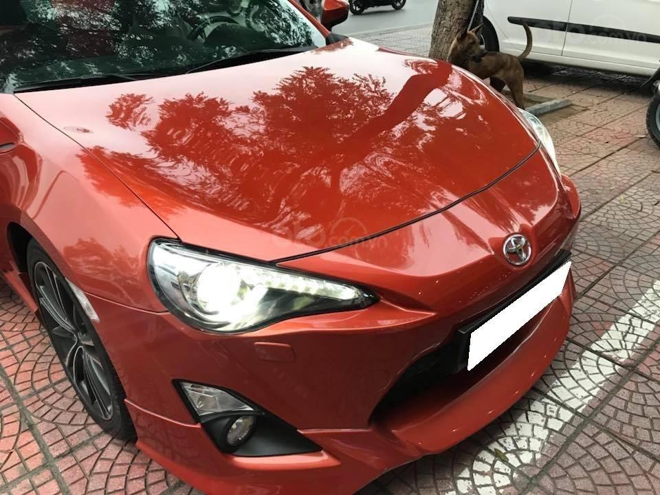 Bán Toyota 86 hai cửa tự động 2012, màu cam đỏ, nhập Nhật chính chủ (2)