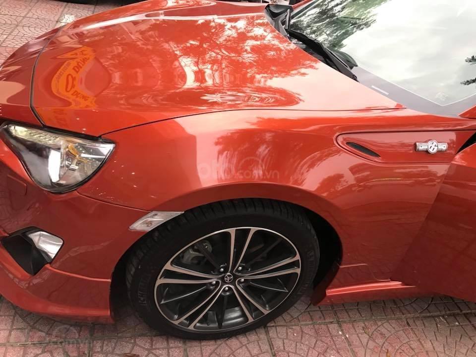 Bán Toyota 86 hai cửa tự động 2012, màu cam đỏ, nhập Nhật chính chủ (9)