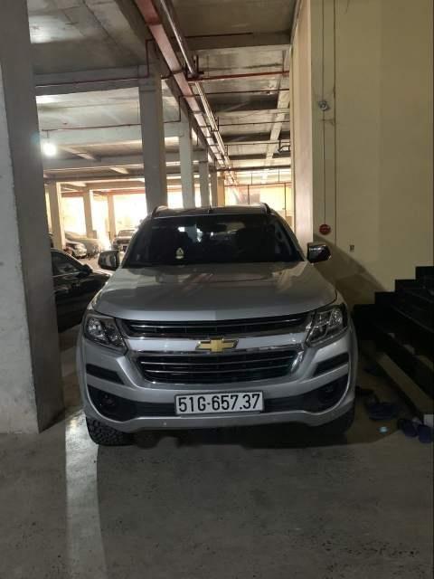 Bán Chevrolet Trailblazer năm sản xuất 2018, màu bạc, nhập khẩu, có bảo hiểm kinh doanh-0