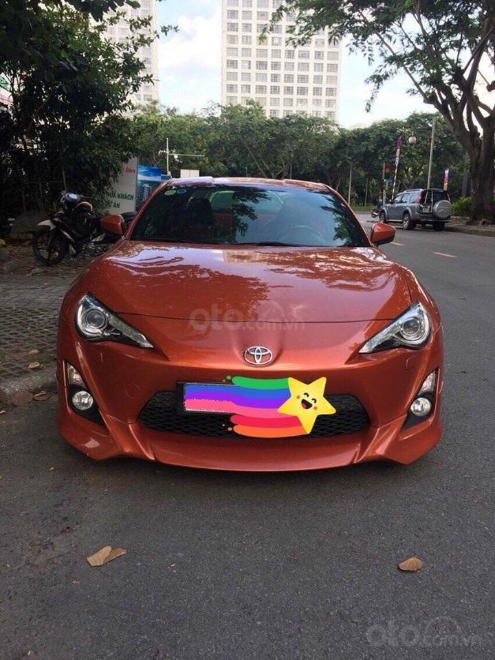 Bán Toyota 86 hai cửa tự động 2012, màu cam đỏ (2)