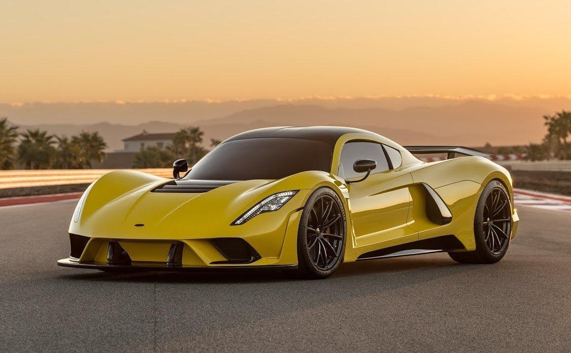 Hennessey Venom F5 là mẫu xe nhanh nhất thế giới hiện nay.