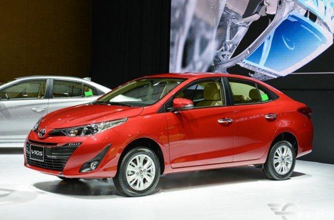 Toyota Vios quay trở lại ngôi đầu trong phân khúc hạng B tháng 5/2019.