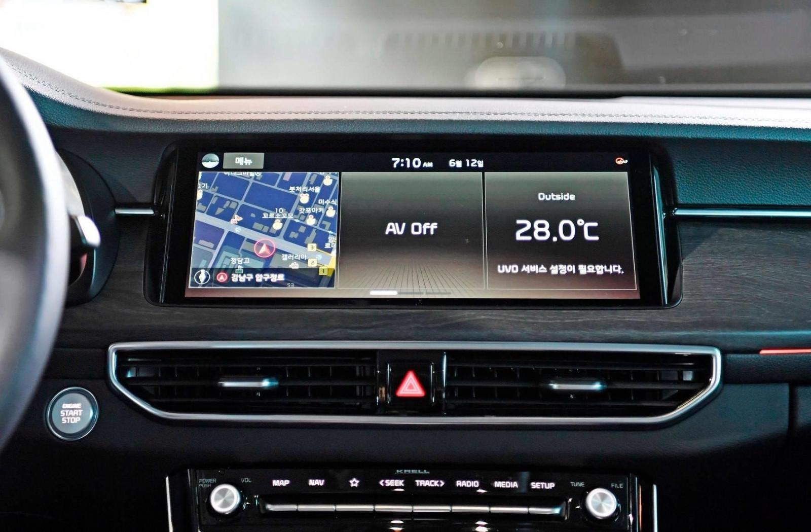 Kia K7 Premier 2020 trình làng, đối đầu với BMW 5-Series a6