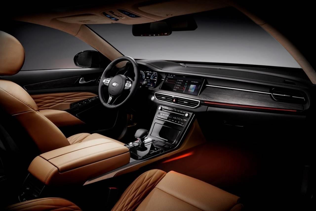 Kia K7 Premier 2020 trình làng, đối đầu với BMW 5-Series a4